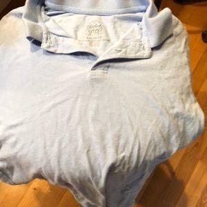 Faded glory light blue collard shirt